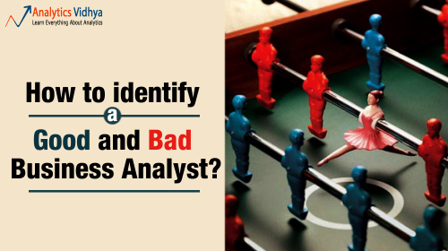how to identify good and bad analyst