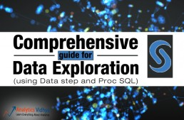 Comprehensive guide for Data Exploration in SAS (using Data step and Proc SQL)