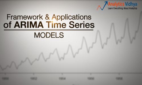 ARIMA time series modeling