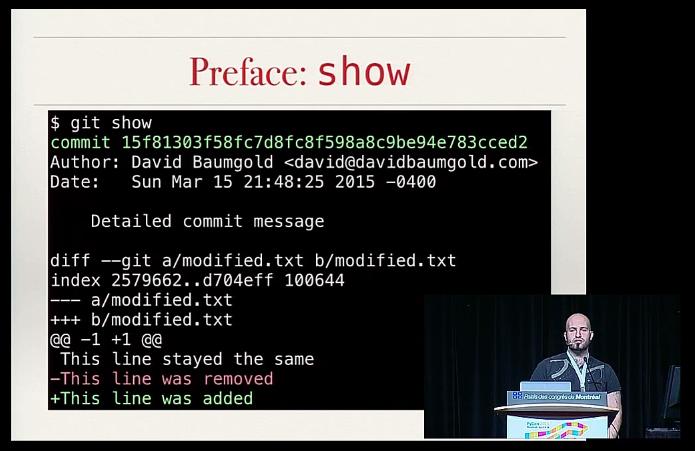 Advanced Git, PyCon Montreal 2015, Python