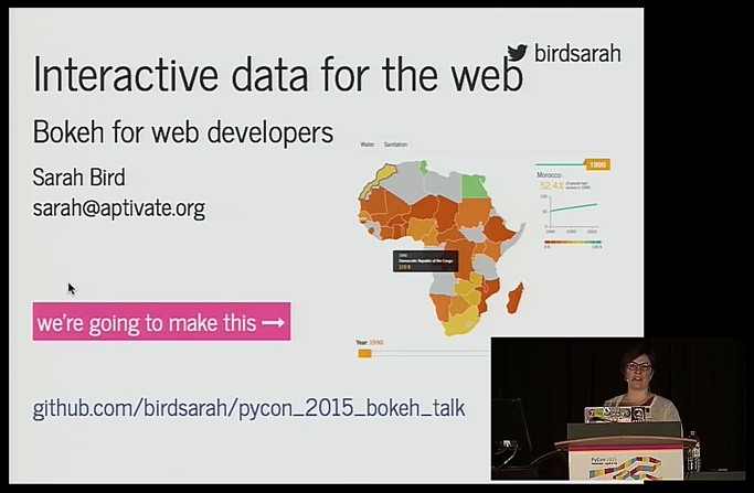 bokay for web developers, python, pycon 2015 videos