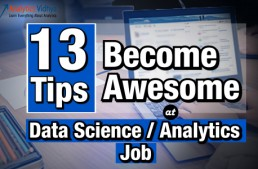 13 Tips to make you awesome in Data Science / Analytics Jobs