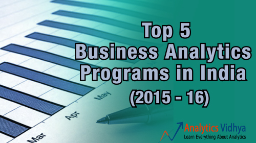 business analytics training programs in India