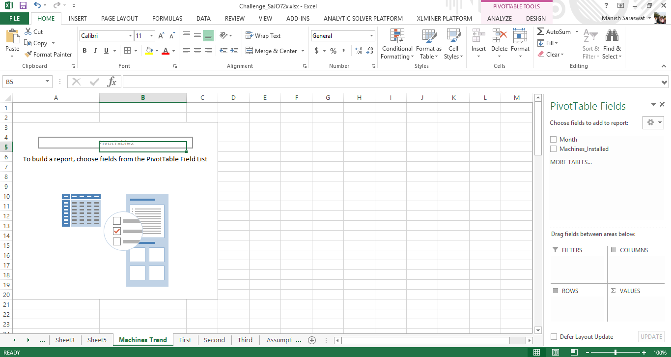 pivot table ms excel tutorial analytics vidhya