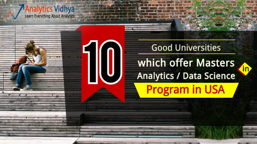 a380b33eeb6 10 Good Universities which offer Masters in Analytics   Data Science Program  in USA
