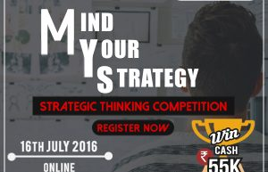 Strategic Thinking Competition by Analytics Vidhya, 16th July 2016