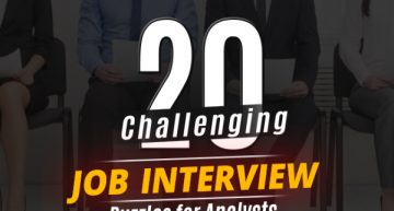 20 Challenging Job Interview Puzzles which every analyst should solve atleast once