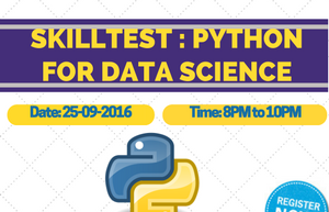 Solutions for Skill test: Data Science in Python